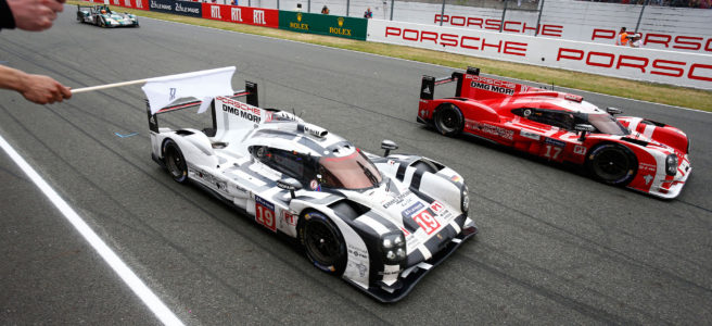 Porsche-919-Hybrid-at-2015-24-Hours-of-Le-Mans-finish-line